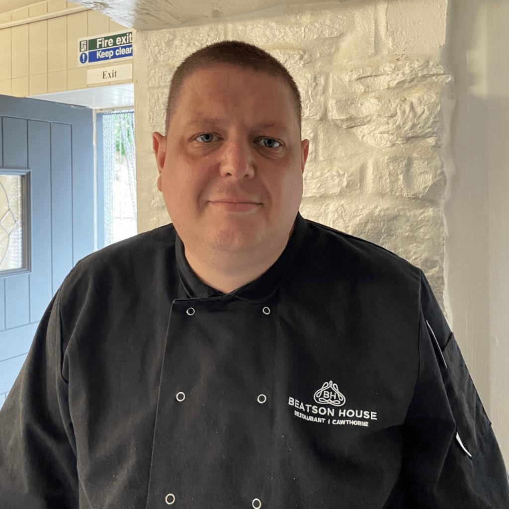 beatson house cawthorne head chef called Lee Haigh